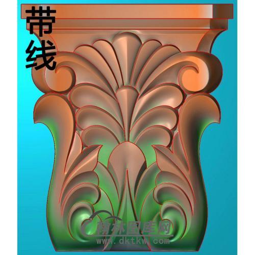 欧式罗马柱头精雕图(LZT-006)