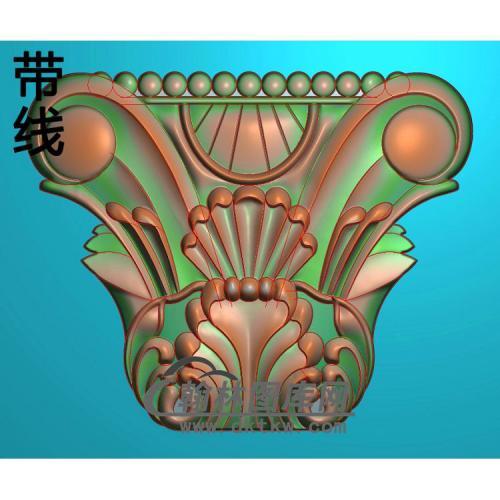 欧式罗马柱头精雕图(LZT-013)