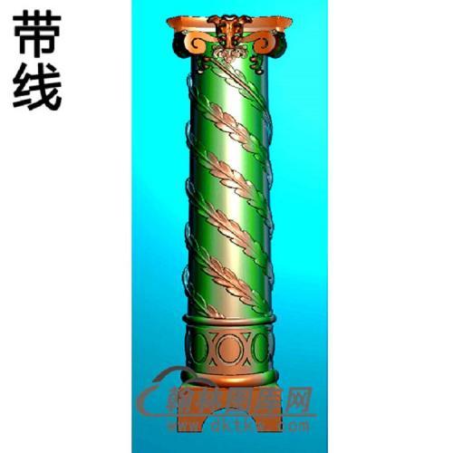 欧式罗马柱头精雕图(LZT-038)