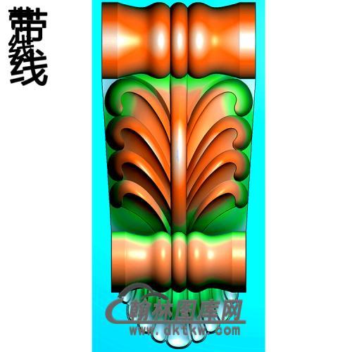 欧式柱头.梁托精雕图(ZTH-061)