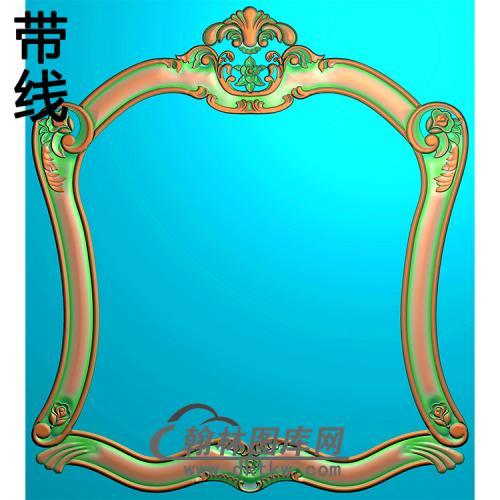 欧式相框.镜框精雕图(LZT-089)