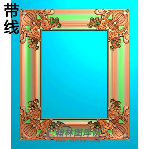 欧式相框.镜框精雕图(LZT-264)
