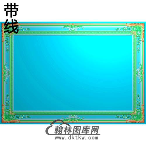 欧式相框.镜框精雕图(LZT-266)