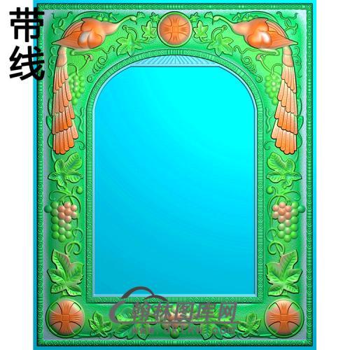 欧式相框.镜框精雕图(LZT-268)