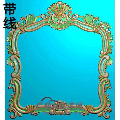欧式相框.镜框精雕图(LZT-295)