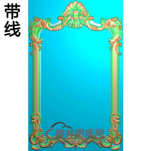 欧式相框.镜框精雕图(LZT-299)