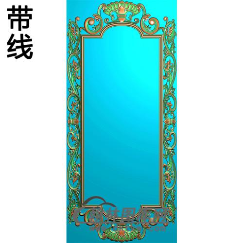欧式相框.镜框精雕图(LZT-301)