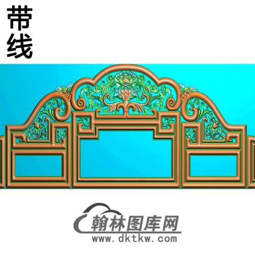 欧式床头精雕图(CT-002)