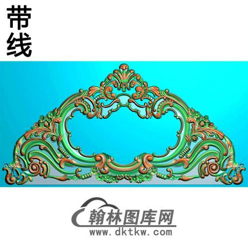 欧式床头精雕图(CT-003)