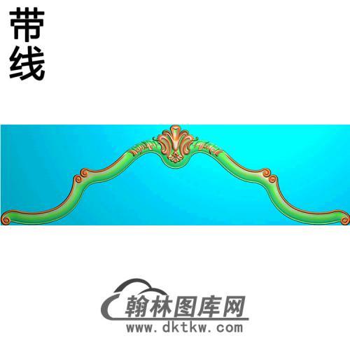 欧式床头精雕图(CT-008)