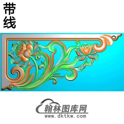 角花配件精雕图(JH-001)