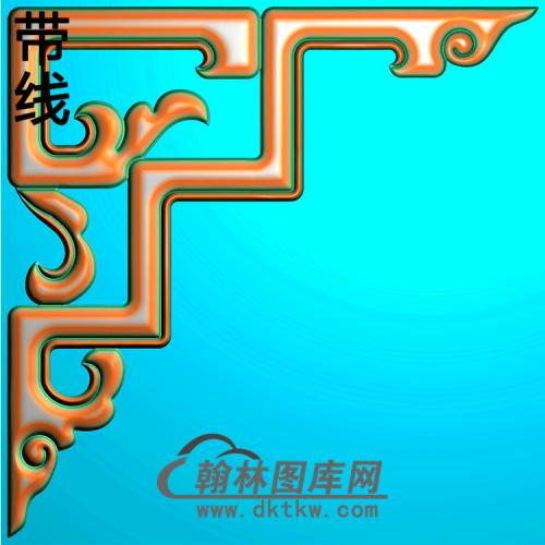 角花配件精雕图(JH-002)
