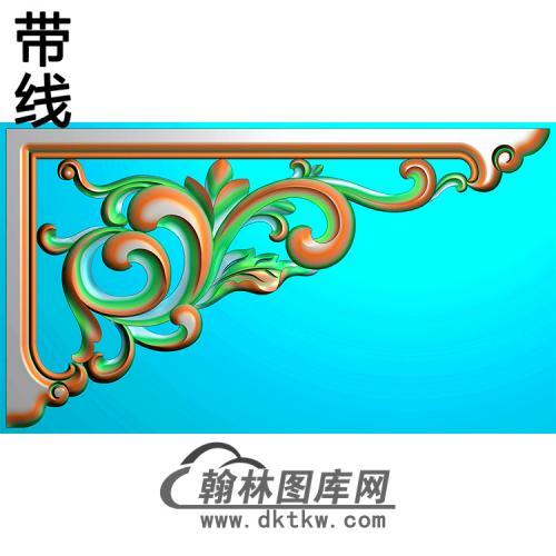 角花配件精雕图(JH-003)
