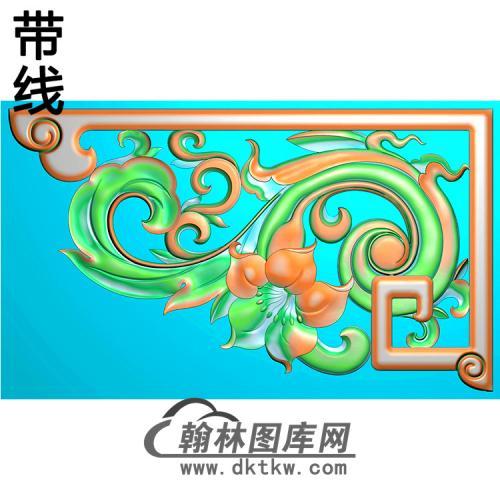 角花配件精雕图(JH-004)