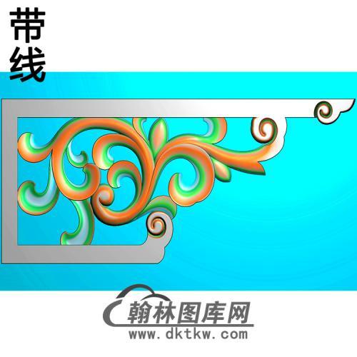 角花配件精雕图(JH-005)