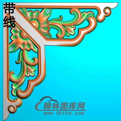 角花配件精雕图(JH-007)