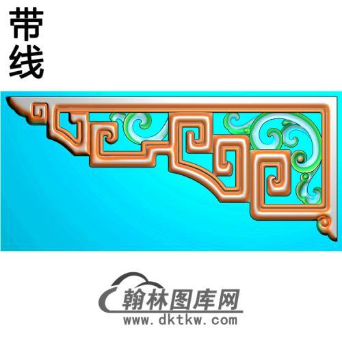 角花配件精雕图(JH-008)