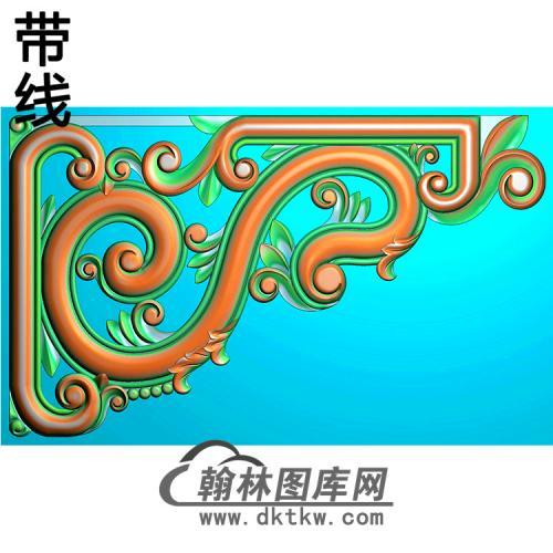 角花配件精雕图(JH-014)