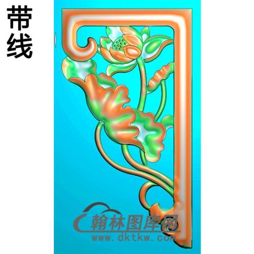 角花配件精雕图(JH-018)
