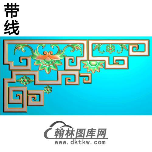 角花配件精雕图(JH-020)