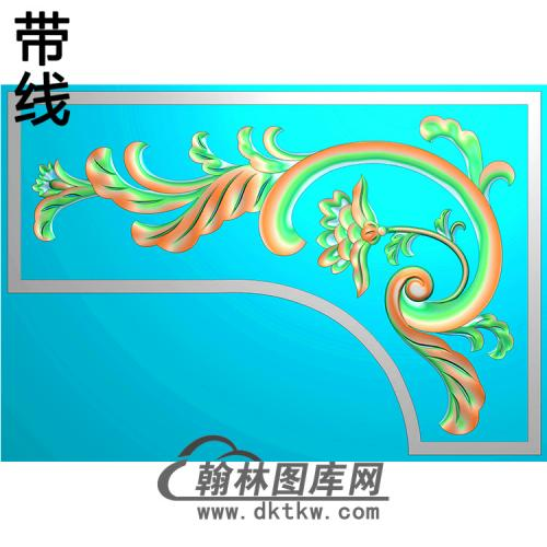 角花配件精雕图(JH-023)