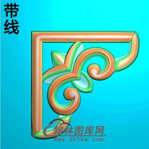 角花配件精雕图(JH-025)