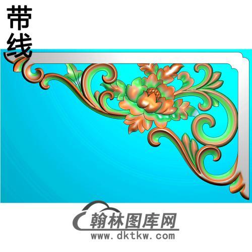 角花配件精雕图(JH-027)