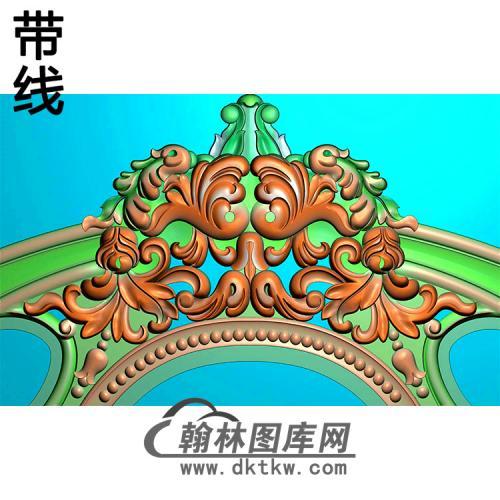 欧式椅脑精雕图(YN-014)