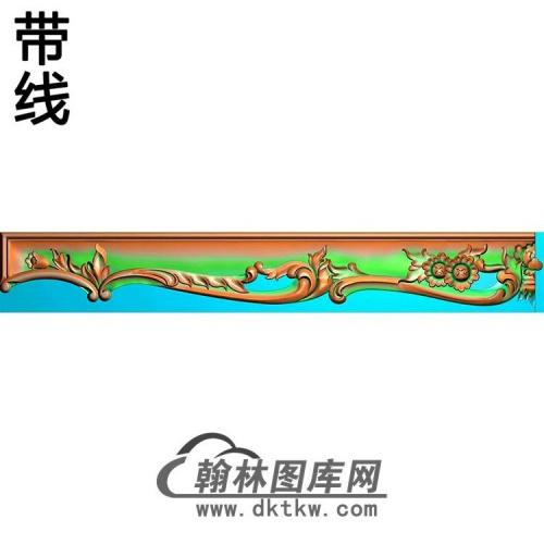 压板.裙板精雕图(QB-008)