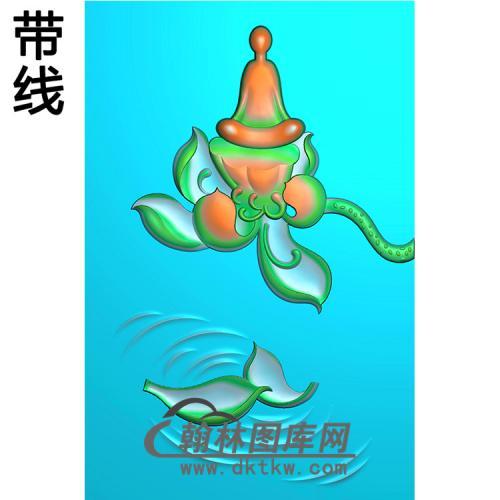 悟道佛像精雕图(DXF-174)