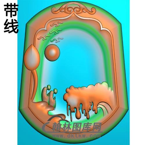 悟道佛像精雕图(DXF-312)