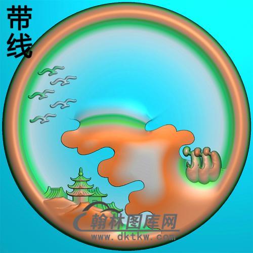 悟道佛像精雕图(DXF-319)