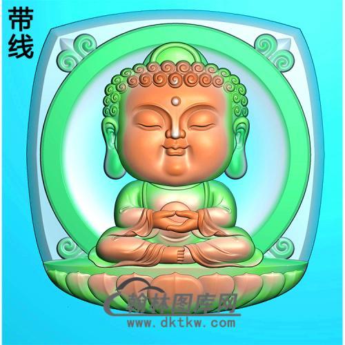宝宝佛精雕图(BBF-027)