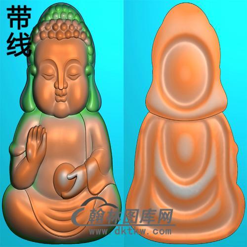 宝宝佛精雕图(BBF-109)