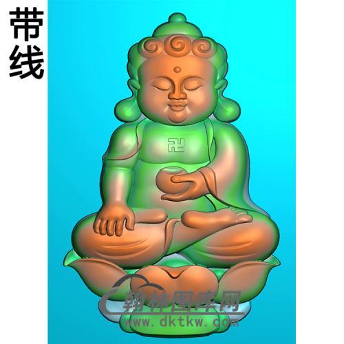 宝宝佛精雕图(BBF-133)
