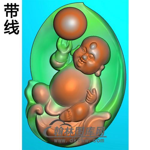 宝宝佛精雕图(BBF-141)