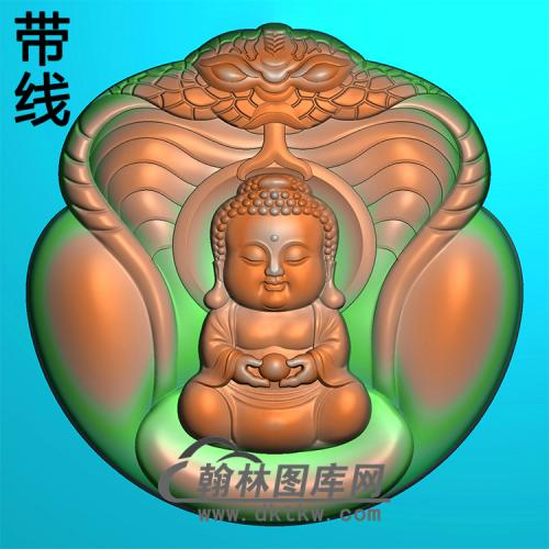 宝宝佛精雕图(BBF-144)