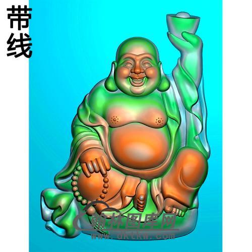 弥勒佛精雕图(MLF-252)