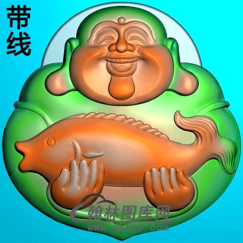 弥勒佛精雕图(MLF-472)