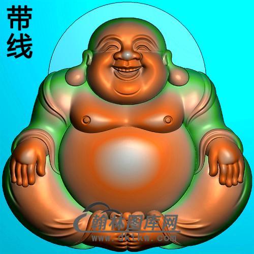 弥勒佛精雕图(MLF-483)