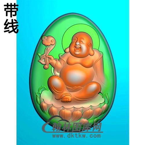 弥勒佛精雕图(MLF-498)