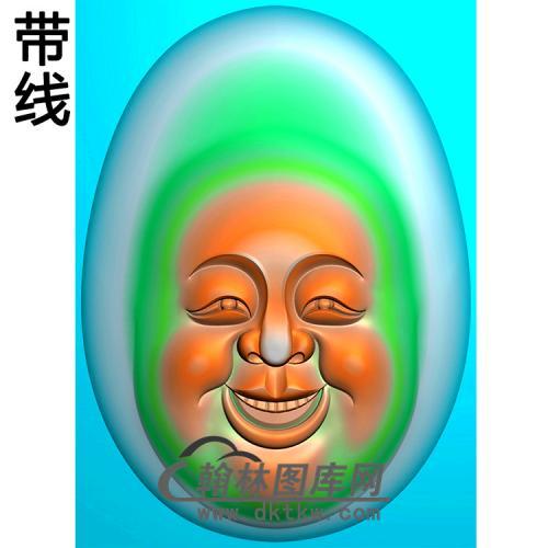 弥勒佛精雕图(MLF-501)
