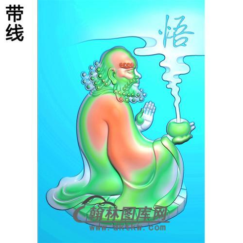 达摩精雕图(DM-030)