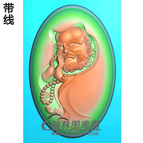 达摩精雕图(DM-032)
