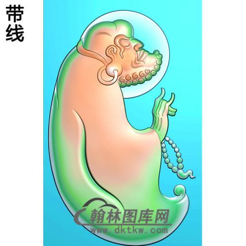 达摩精雕图(DM-037)