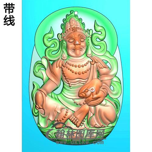 藏佛精雕图(ZF-009)