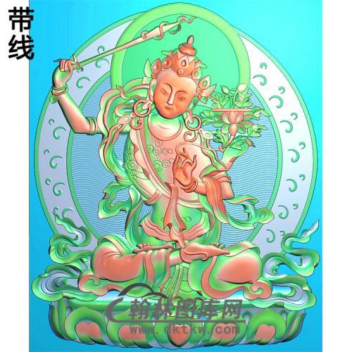 藏佛精雕图(ZF-010)