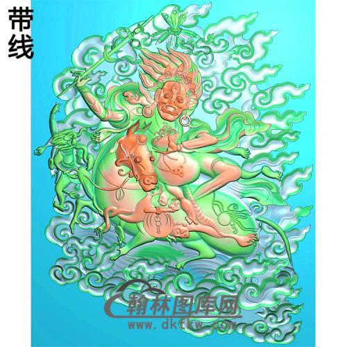 藏佛精雕图(ZF-011)