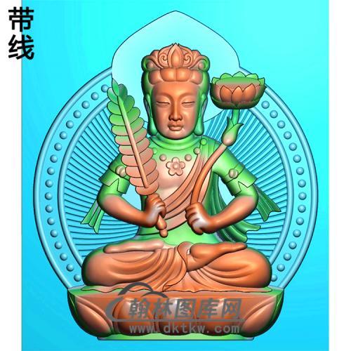 藏佛精雕图(ZF-013)