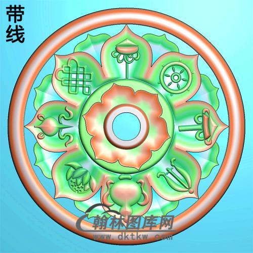 藏佛精雕图(ZF-014)
